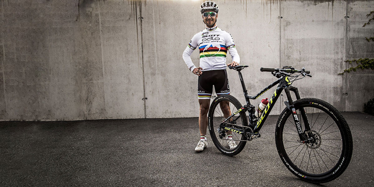 "For the first time in recent memory, Schurter has decided to race 29"" wheels instead of 27.5""."