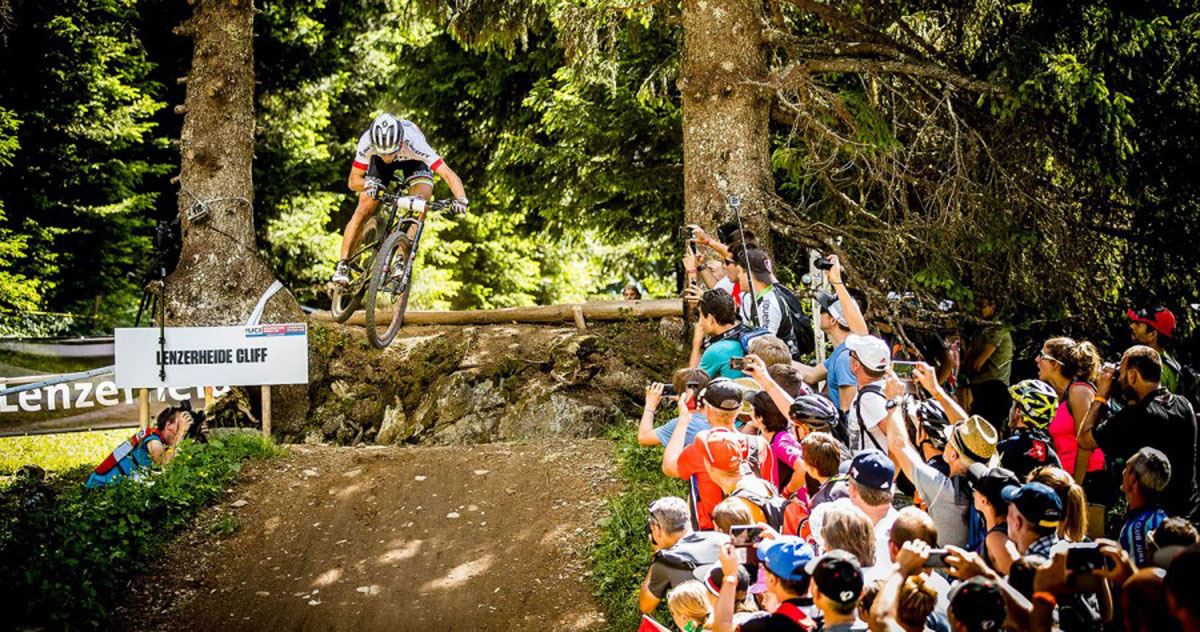 The Swiss rider is one of the sport's most dynamic stars, equally adept climbing and descending.