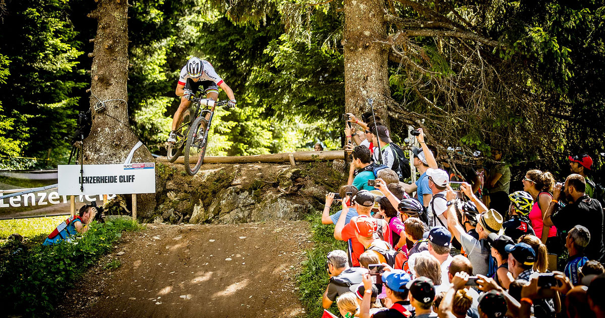 Schurter can do much more than simply go uphill fast.
