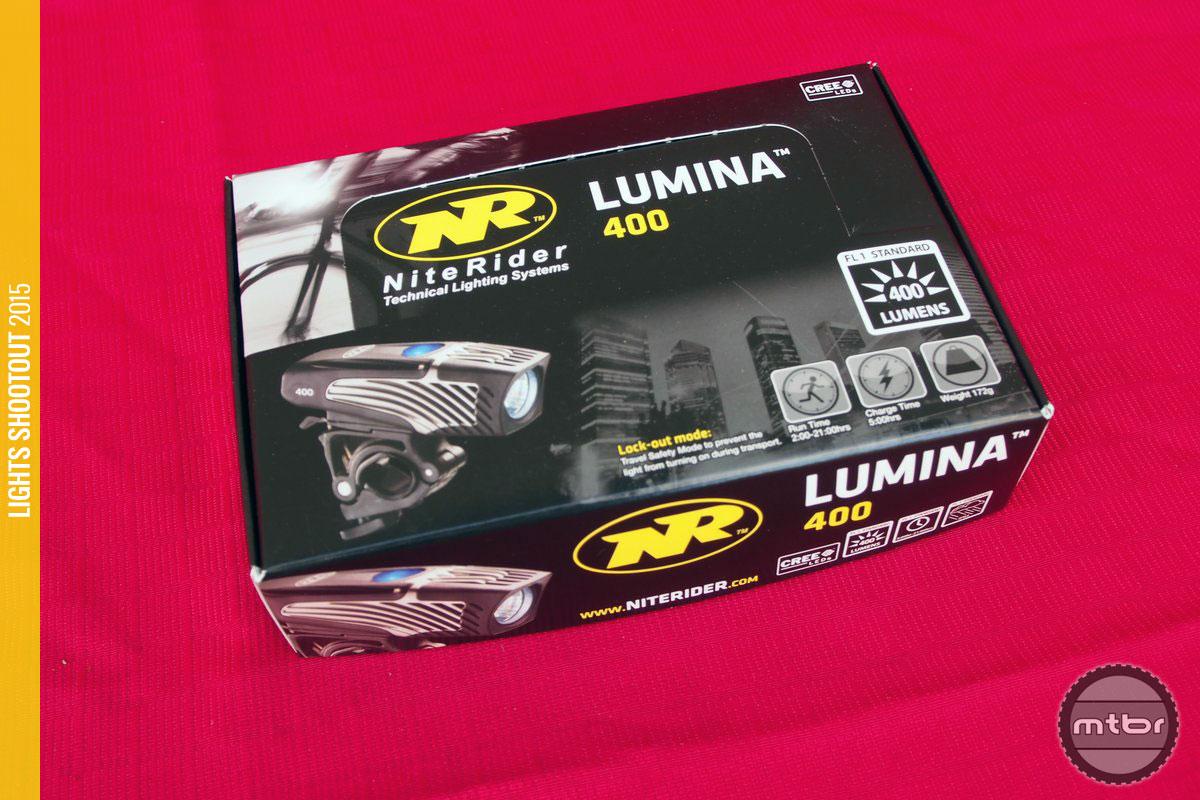 NiteRider Lumina 400 Box