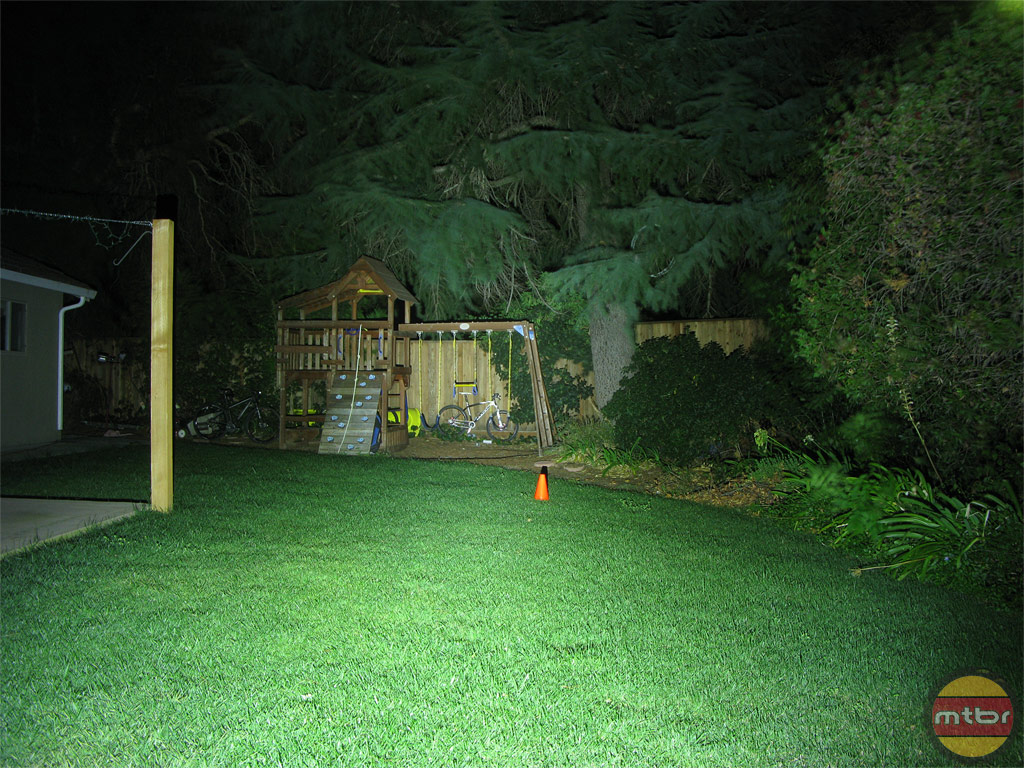 Niterider Pro 1500 Backyard Beam Pattern