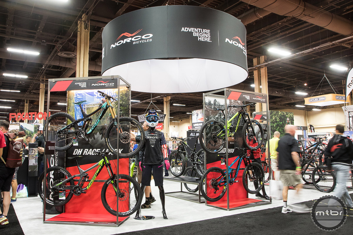 Norco Interbike 2016 Booth
