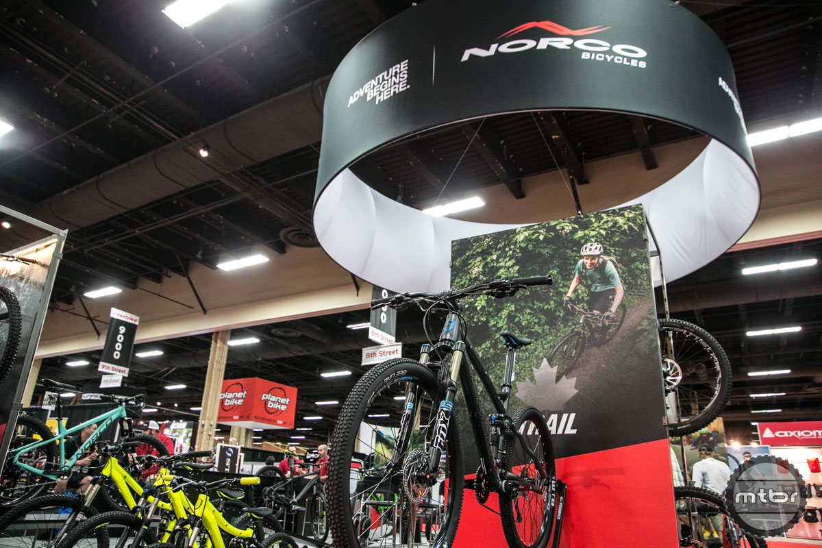 Norco Interbike 2015 Booth