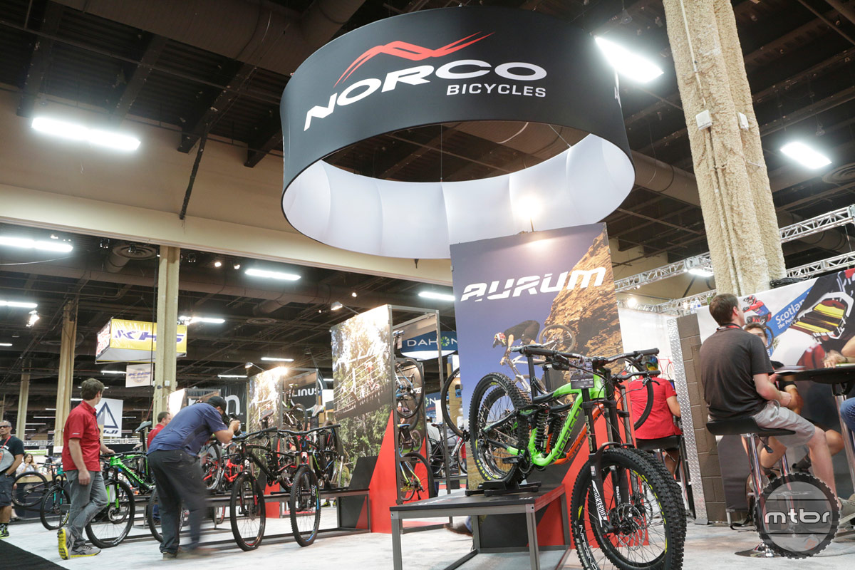 Norco 2014 Interbike Booth