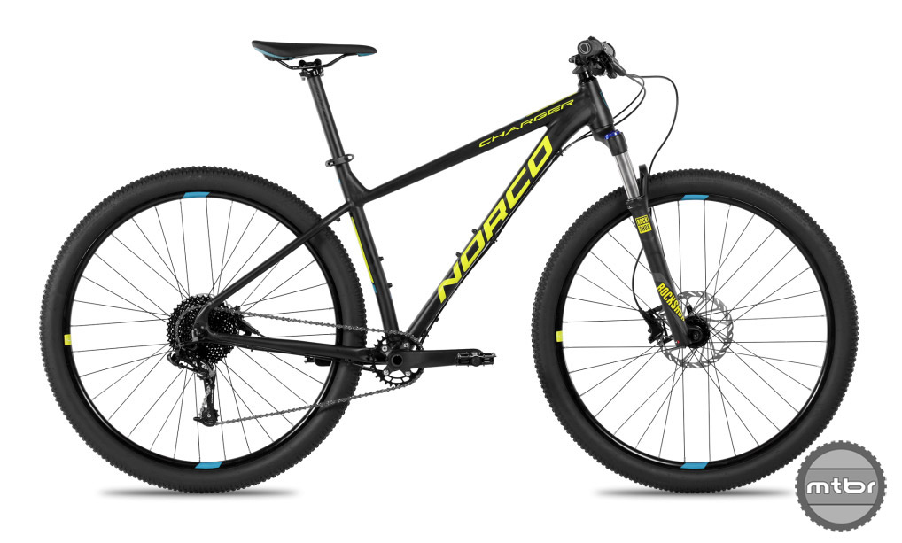 "Norco provides an XC race-ready bike for the beginner in their choice of wheel size: 27.5"" or 29""."