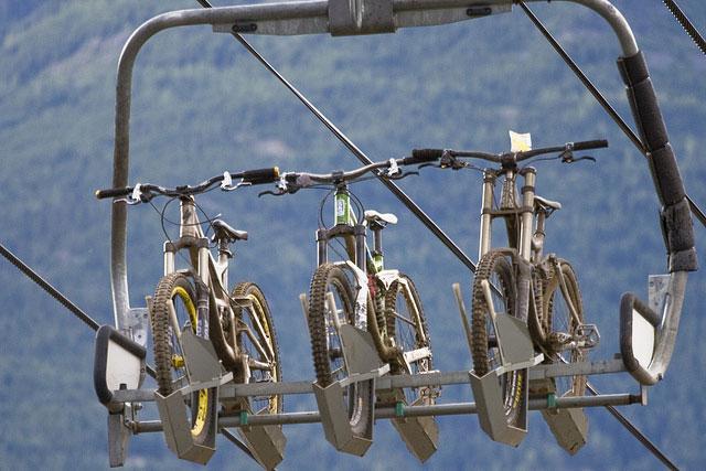Norco Kokanee Crankworx Bike lift