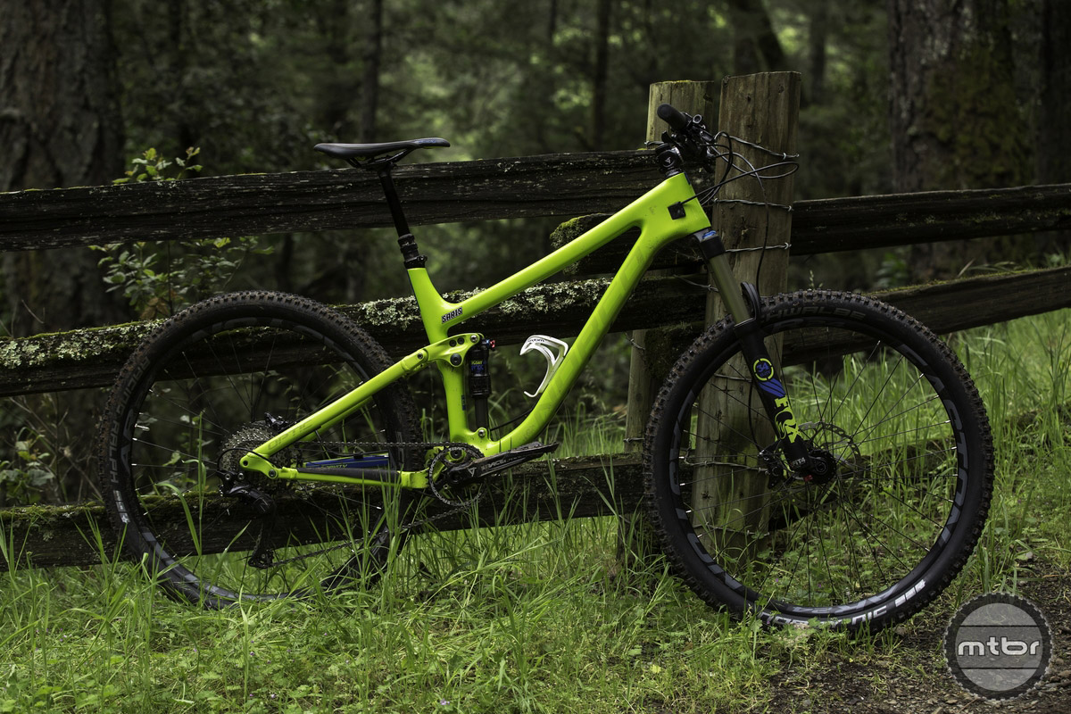 The two new Optic platforms are Norco's take on a modern short travel trail bike. Photo by Long Nguyen