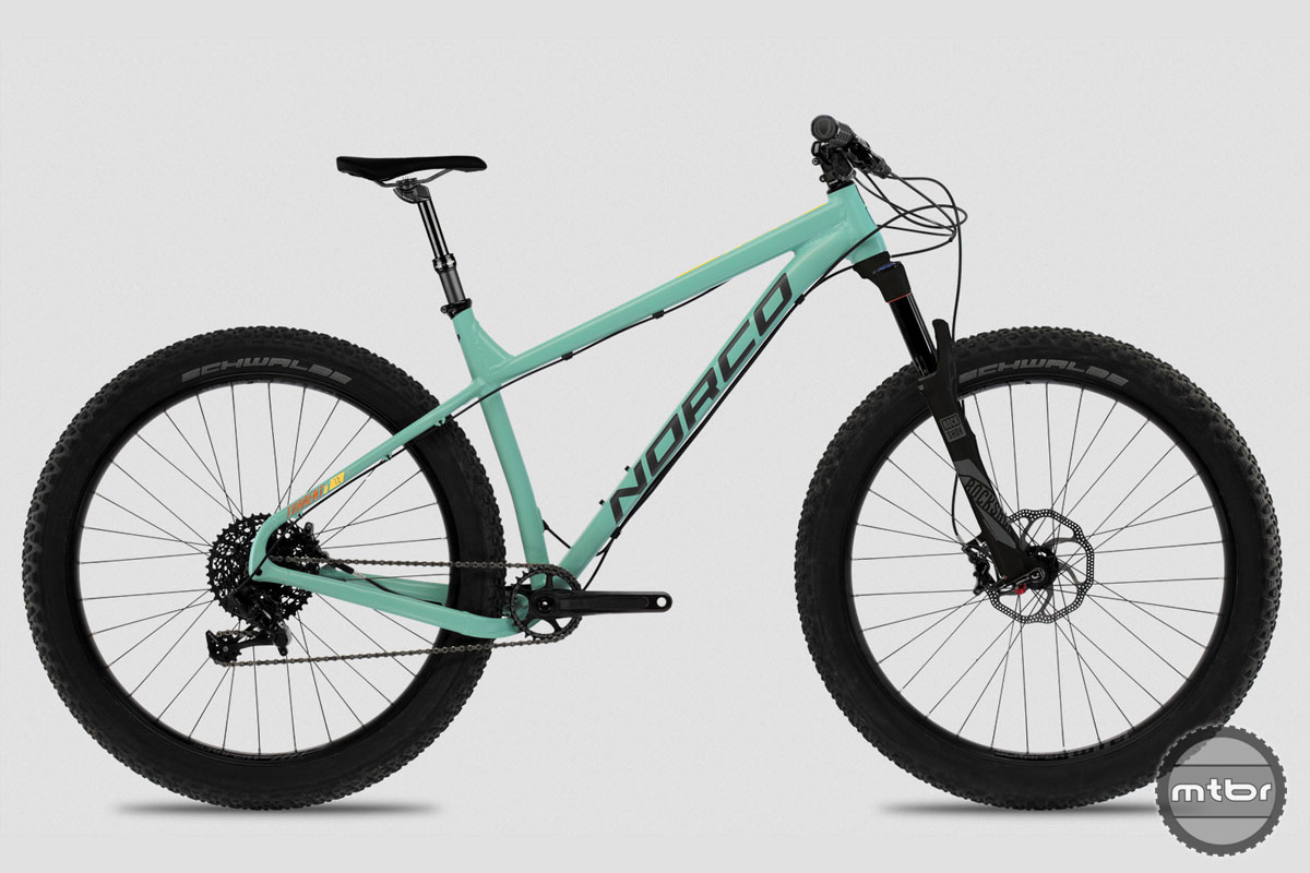 Like most Norco's, the Torrent leans towards the aggressive gravity rider.