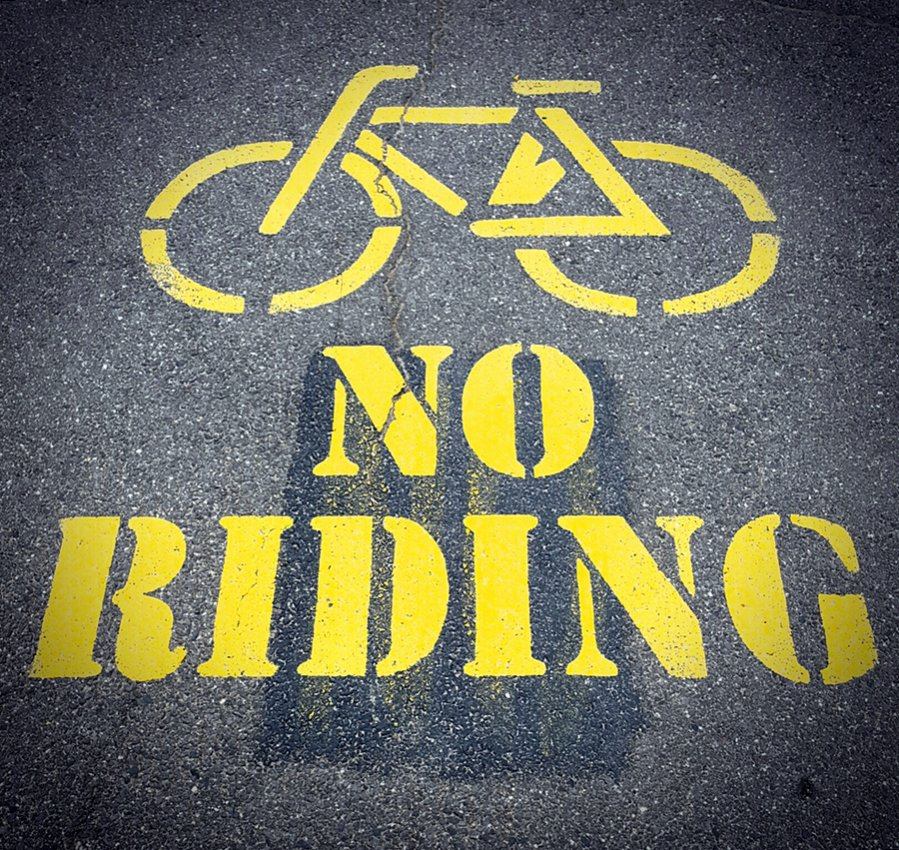 One picture, one line.  No whining. Something about YOUR last ride. [o]-noriding.jpg