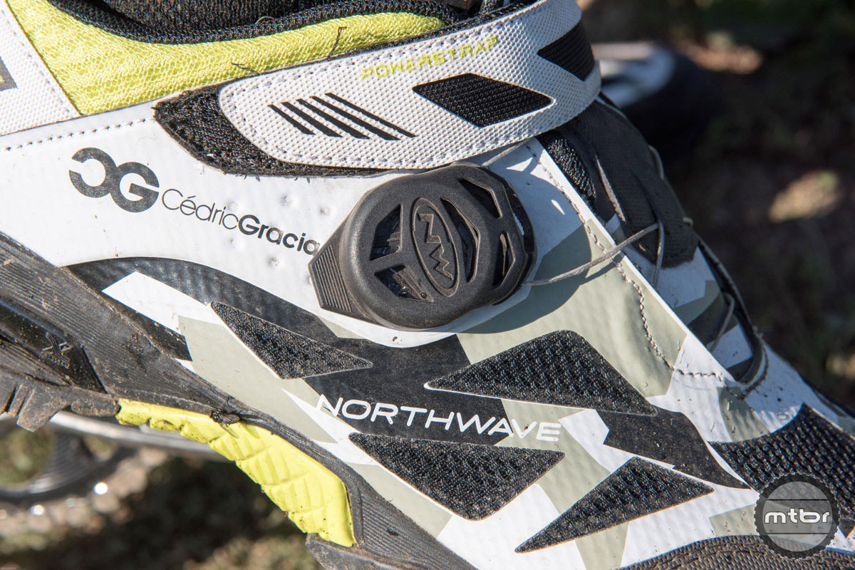 The shoes ship with protective dial covers, but we ditched them after just a few uses.