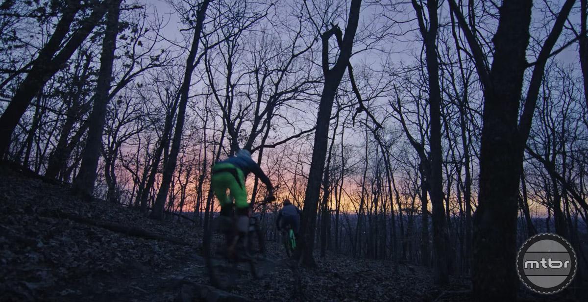 Mountain Biking in Northwest Arkansas