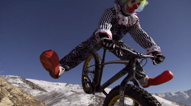 Clown nose wheelie gone awry