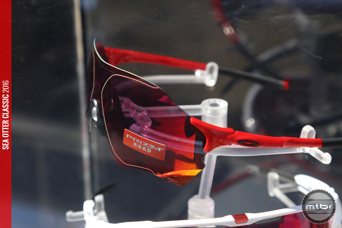 The Trail version of Oakley's Prizm tech enhances reds and browns, so you can quickly spot obstacles like rocks and roots in both shade and bright lights.