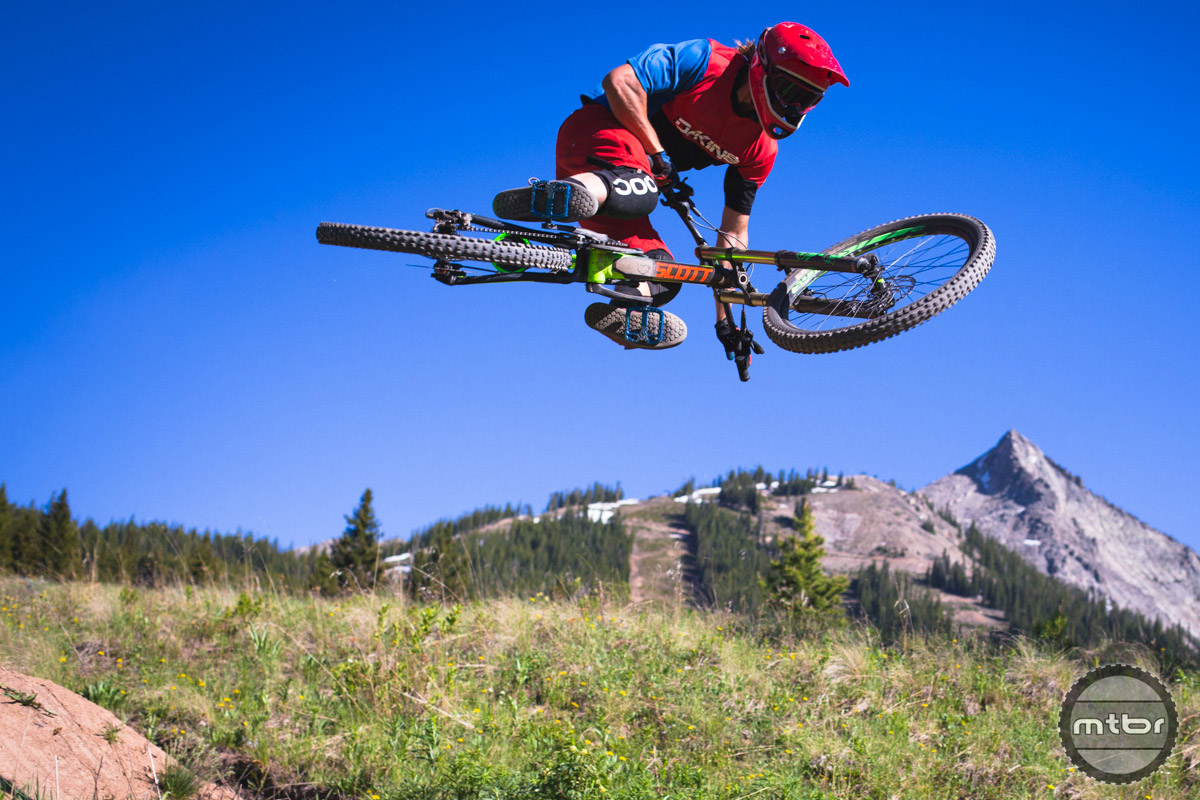 Crested Butte Mountain Resort's Evolution Bike Park has a little something for everyone. Photo by Chris Segal