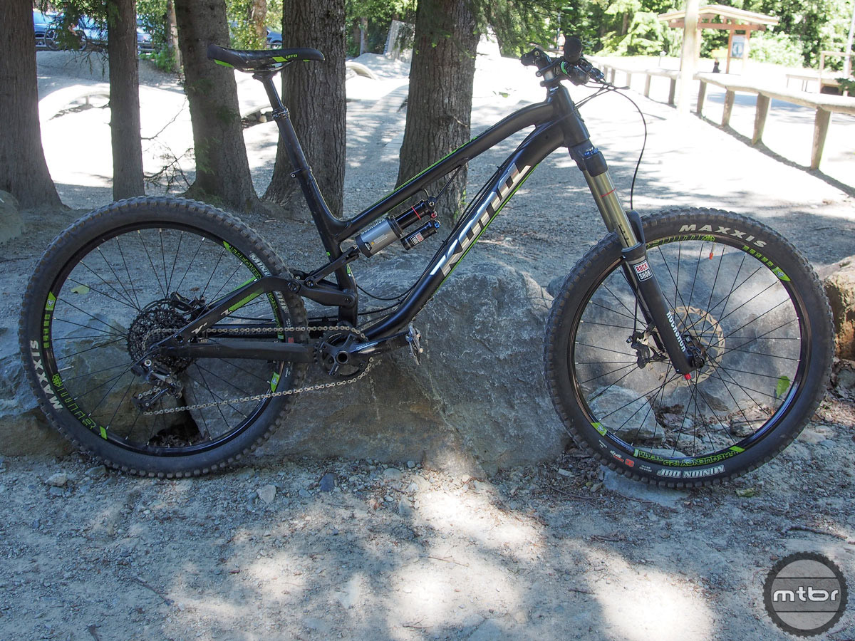 """Once again, we didn't intend to end up on this bike. But when all the other size Large testers were gone, we found ourselves on 26"""" wheels for the first time in a long time. Turns out the """"little wheels"""" aren't dead just yet. Billed as DH/freeride/hardcore enduro machine, the Process 167 reminded us that new technology isn't always better technology. No, she didn't climb like a hardtail dream. But the smaller wheels provided a nimble ride in the tight, techy Whistler woods — and the bike didn't miss a beat when we hauled it to the top of the Whistler Bike Park for a few jump-filled laps."""