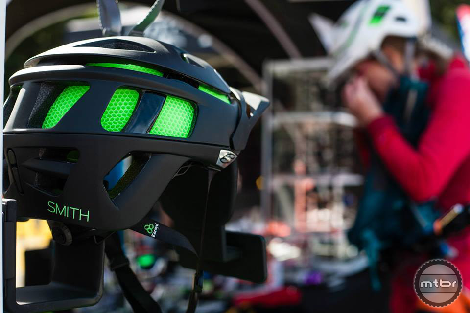 Smith optics was on site demoing helmets and sunglasses. Photo by Norma Ibarra