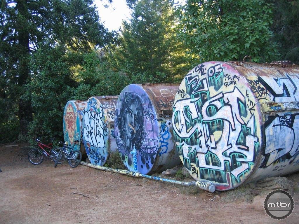 October 2006 UC Santa Cruz Tanks