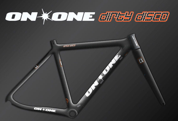 on one dirty disco carbon cyclocross frameset preorder