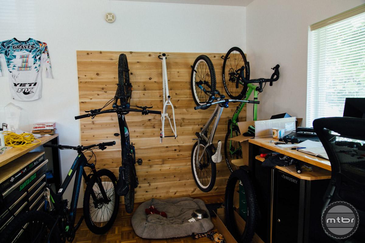Every office needs bike parking.