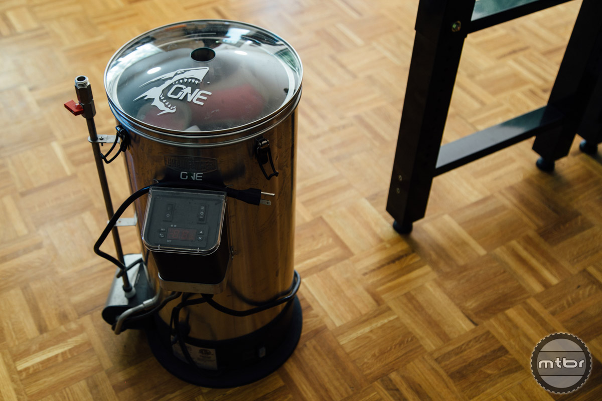 For those unfamiliar, this device is an all in one brewing system.