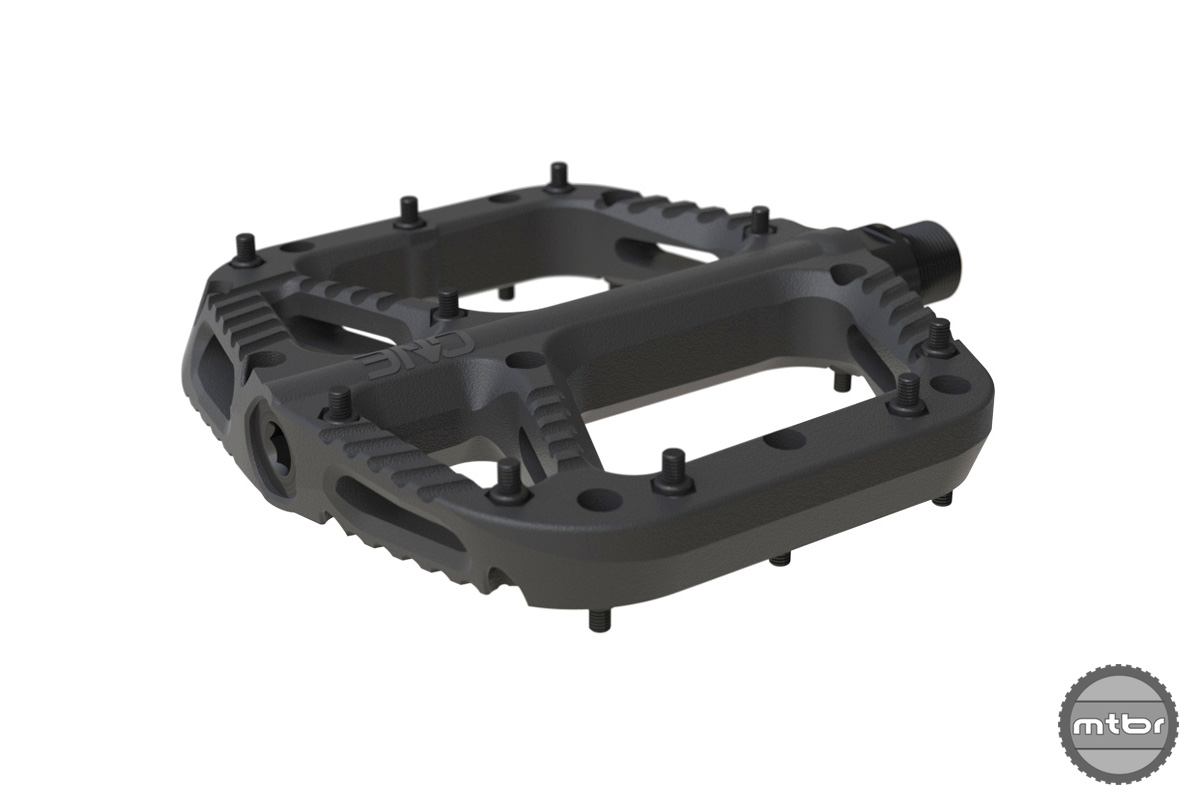 OneUp Components Composite Flat Pedal Iso Front Black