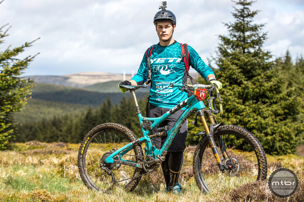 Richie Rude used the Chainguide to much success in the EWS.