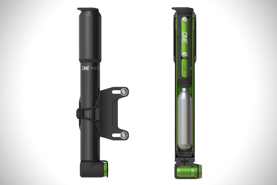 Airbone Matrix CNC Black Alloy Pump High Pressure 130Psi MTB Bicycle Bike