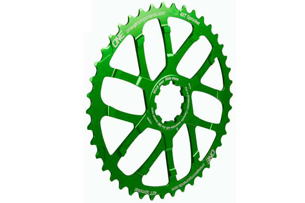 Porkchop BMX Chop Saw I single speed bicycle chainring 41T 110//130mm bcd GREEN
