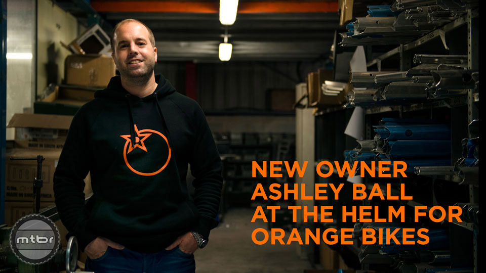 Orange's new owner is Ashley Ball, who is the nephew of original co-founder Steve Wade. He's working diligently to help grow the brand outside of the UK. Photo by Orange Bikes