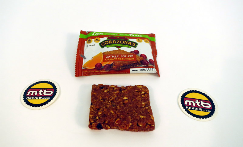 Orange Cranberry bar - whole