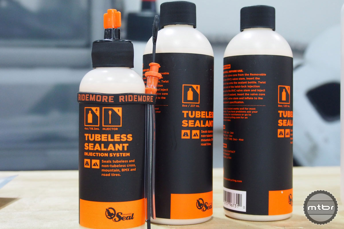 Each bottle of Orange Seal come with a handy dipstick that can help you know when it's time to add more sealant.
