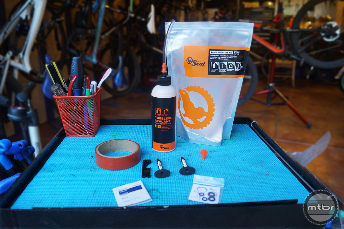 Orange Seal Tubeless Kits
