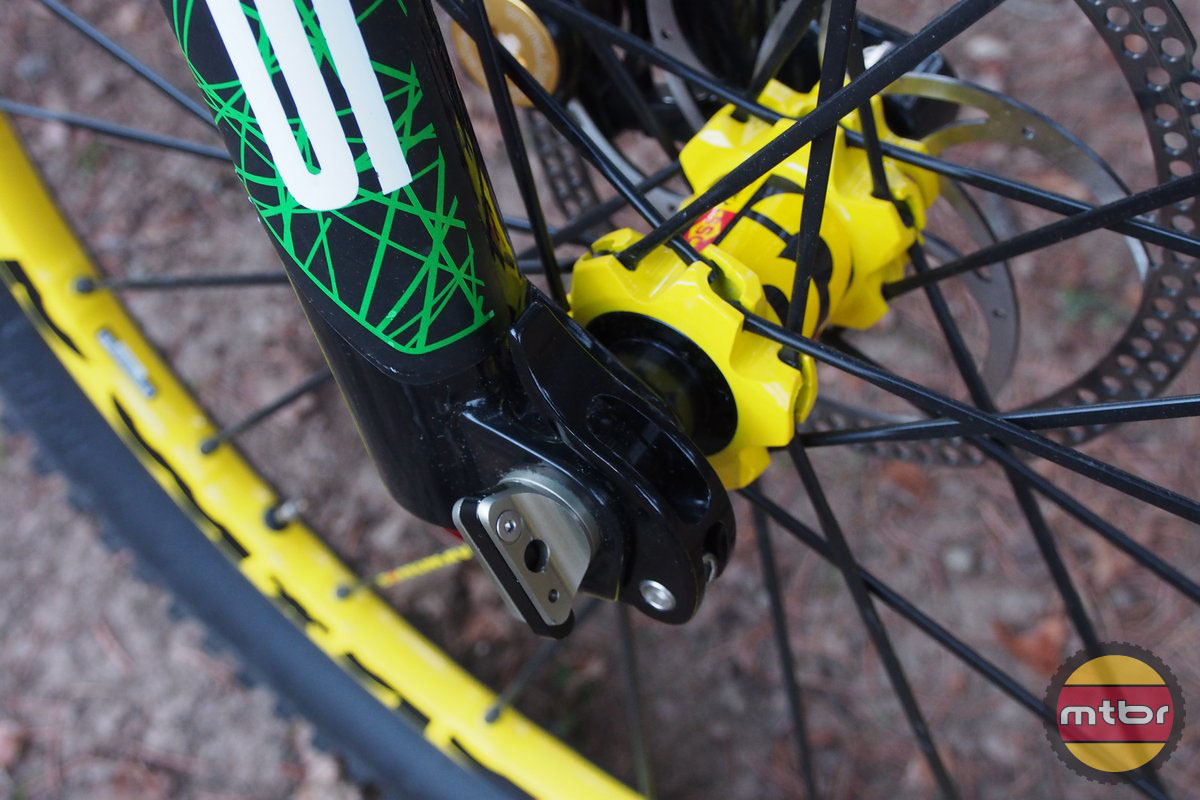 Orbea Rallon has 20mm Axle