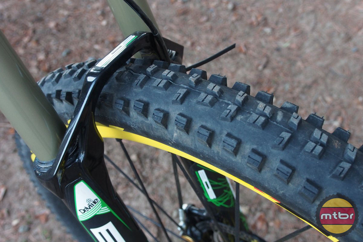 Orbea Rallon with Mavic Crossmax Enduro Wheels and Tires