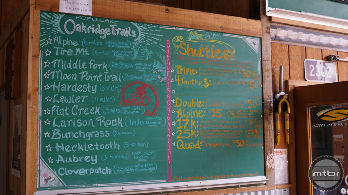 Randy at Oregon Adventures has created a whole menu of trail experiences for riders in Oakridge. Look him up for an amazing adventure while you are visiting.