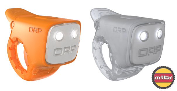 ORP LED bike light with integrated horn