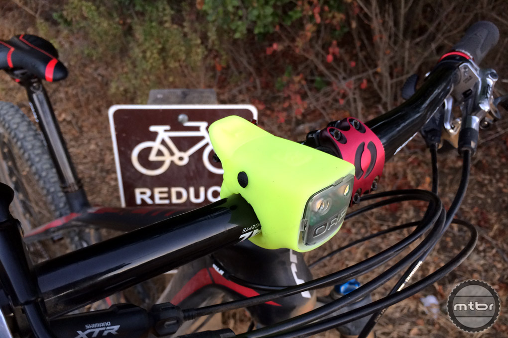 Review Orp Bike Light With Built In Dual Horn Mtbr
