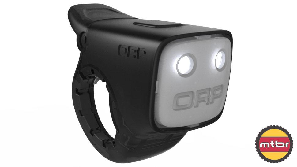 ORP bike light - easily mounts to handlebar