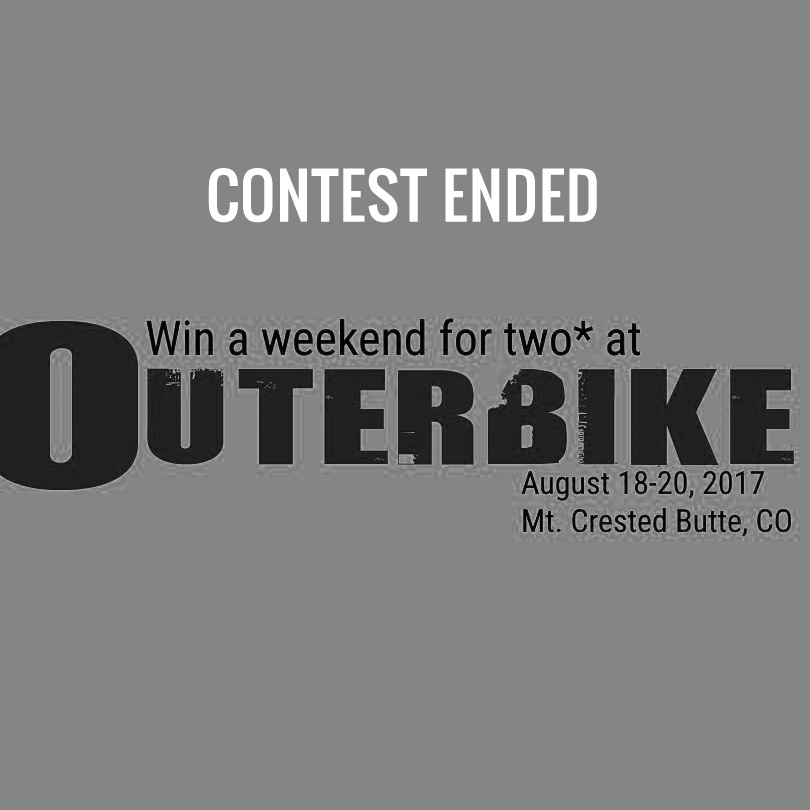 Outerbike Contest End