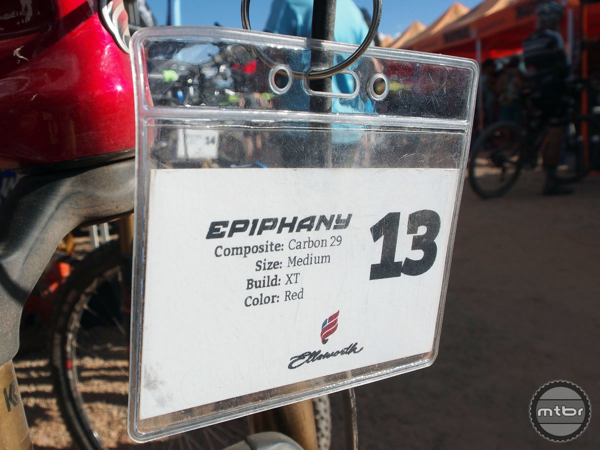 Ellsworth is in the midst of a brand rebirth thanks in part to bikes such as the Epiphany.