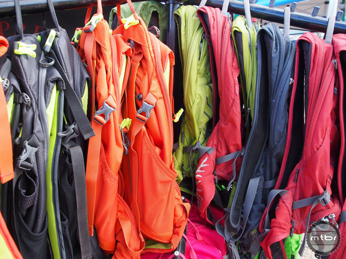We've been big fans of Osprey's hydration packs from day one, and they keep getting better and better. Love the new colors, too.