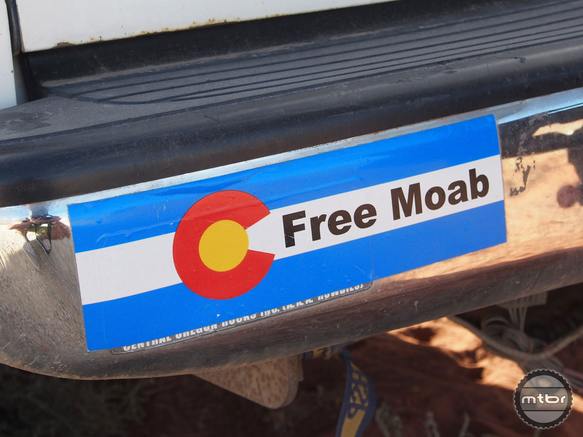 As a native Coloradoan, it would be great to call Moab our own. But we're okay leaving it in Utah as long as they keep building so many great trails.