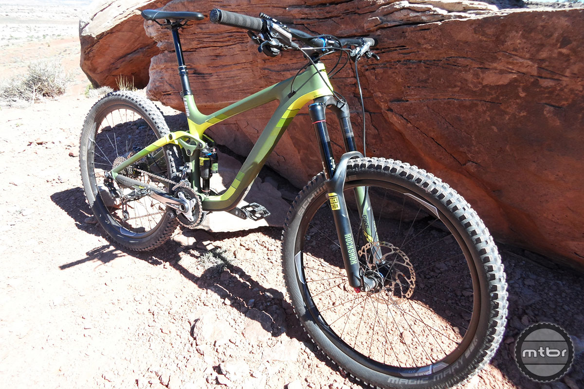 Giant Reign 27.5 1 Yellow-Green
