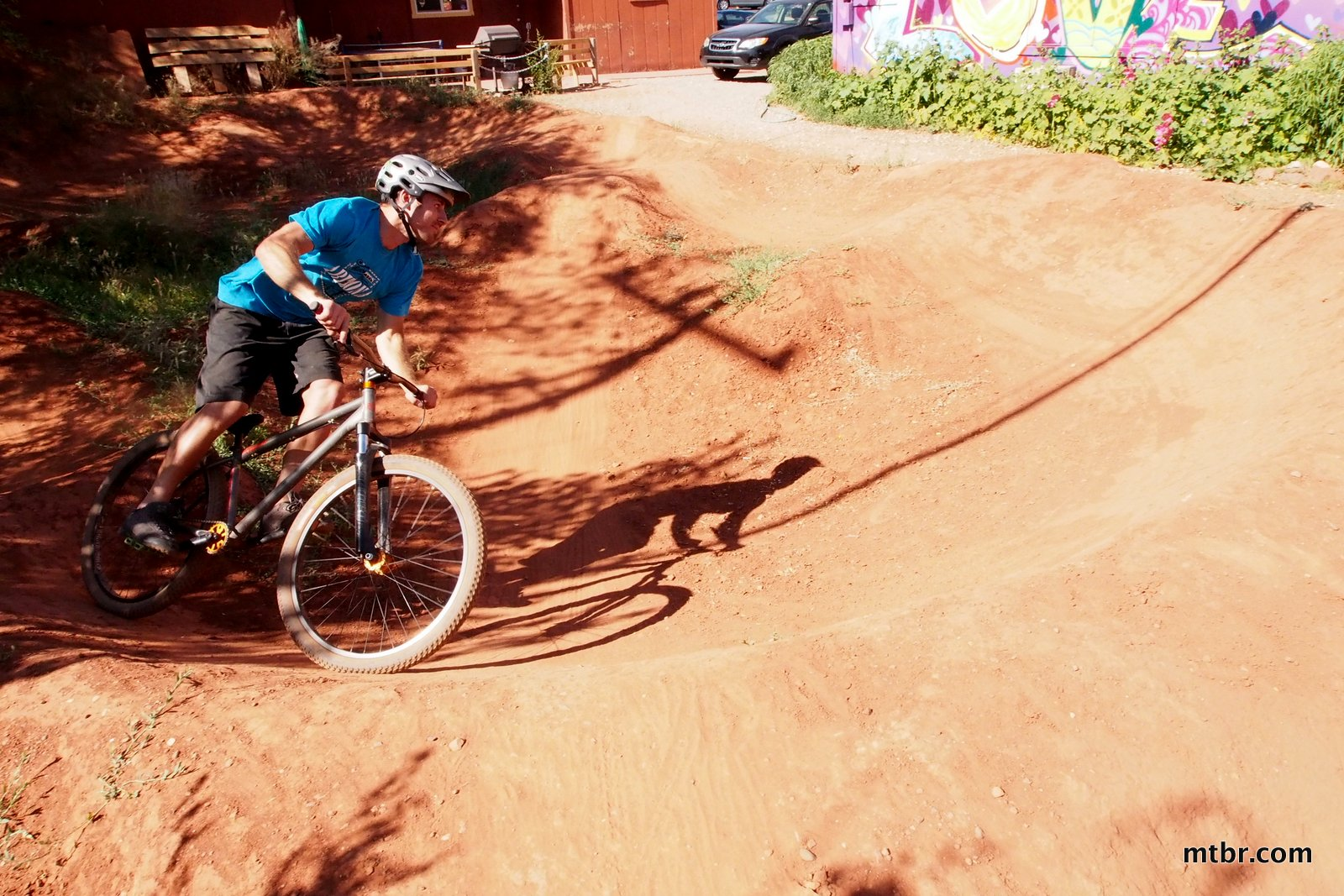Over The Edge Jason on Pump Track