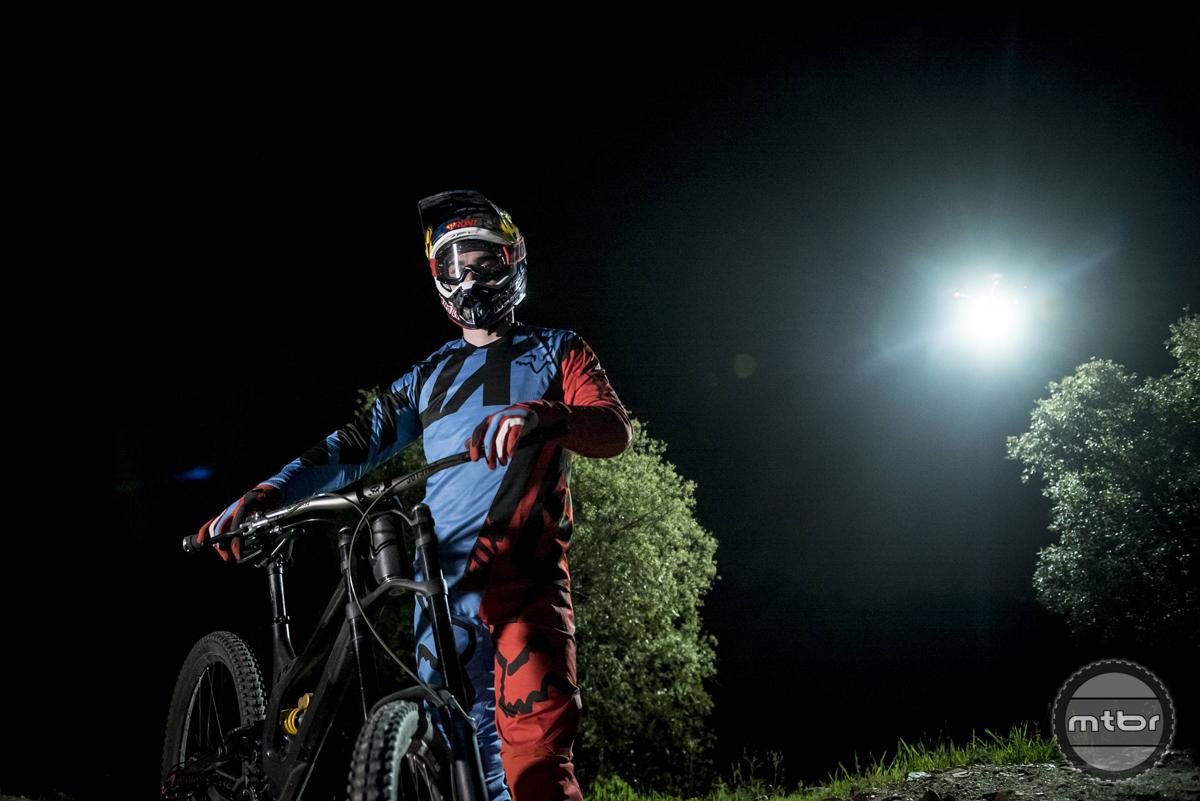 Loic Bruni's Night Chase