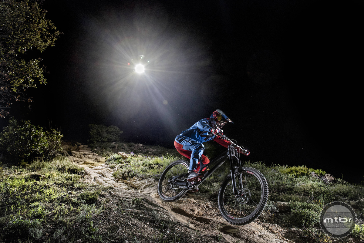 Loic Bruni's Night Chase