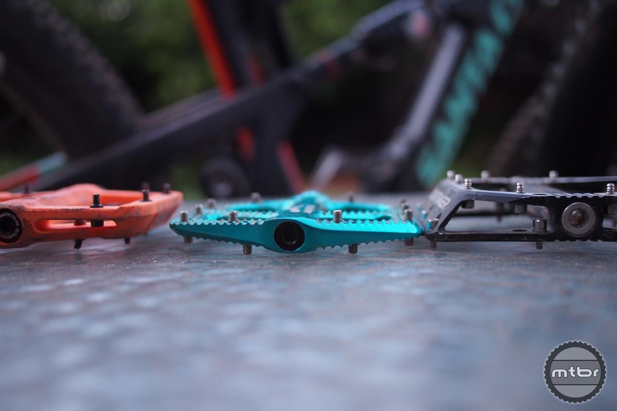 Bontrager Line Pro Pedals Compared