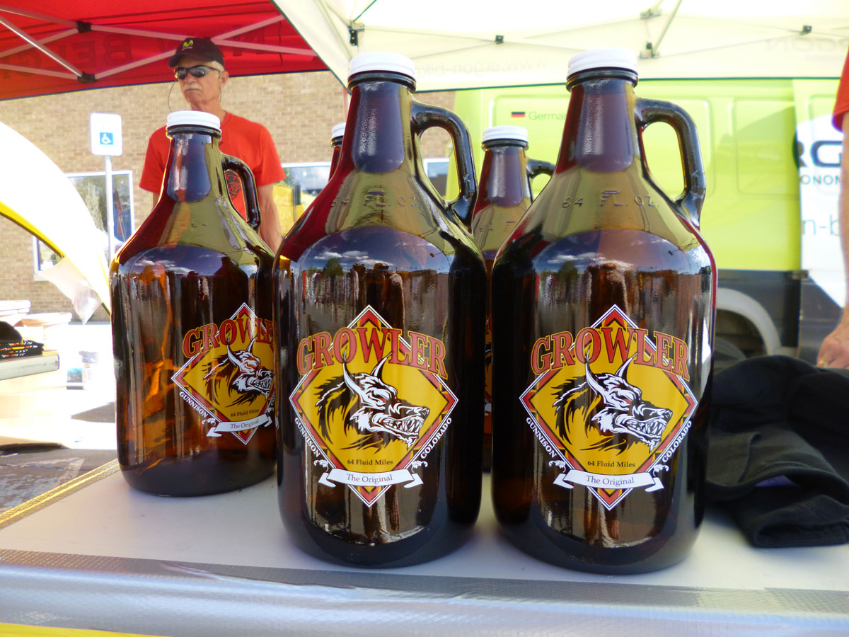 Finisher Growlers