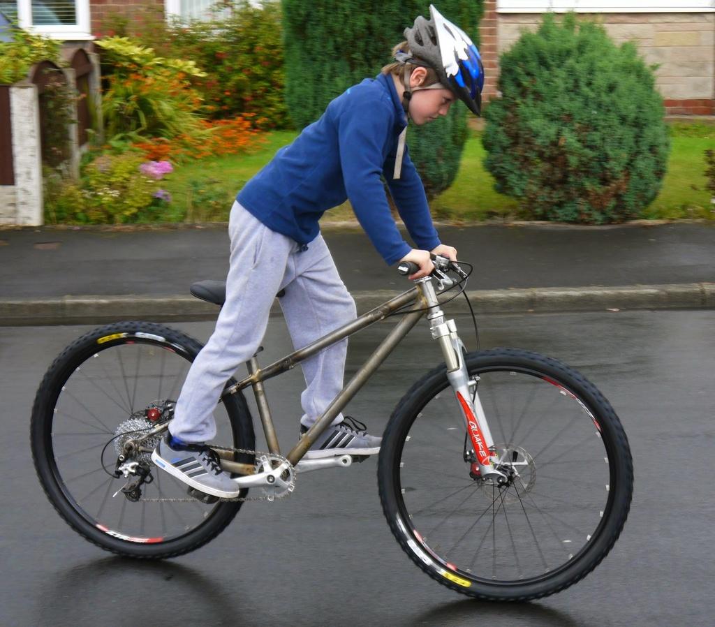 """Full suspension kids 20"""" wheeled Nukeproof MiniMega-p1030162.jpg"""