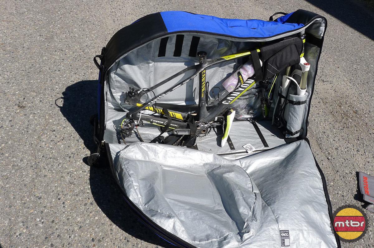 Review Evoc Bike Travel Bag Mtbr Com